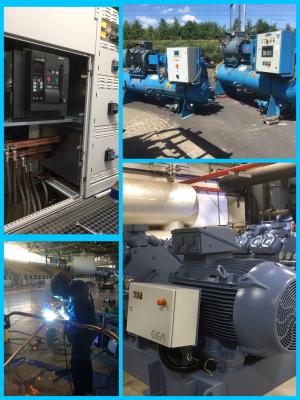 Nieuwe machines voor Triavium, zuiniger met energie