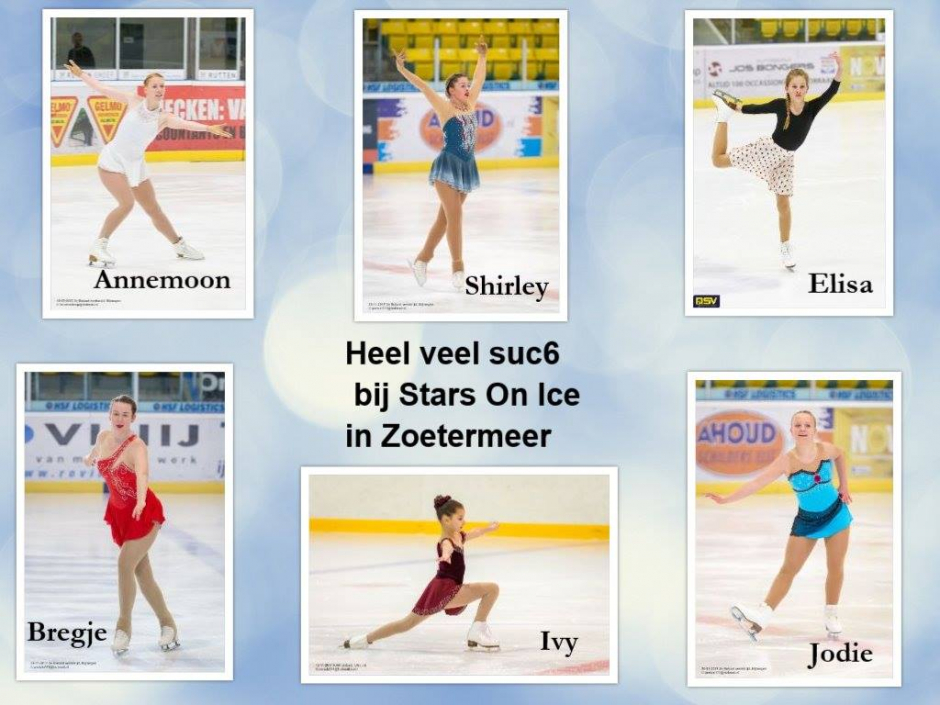 Stars van NSV on ice